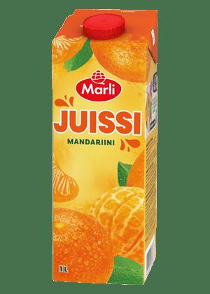 Marli Juissi Mandariinimehujuoma 1L