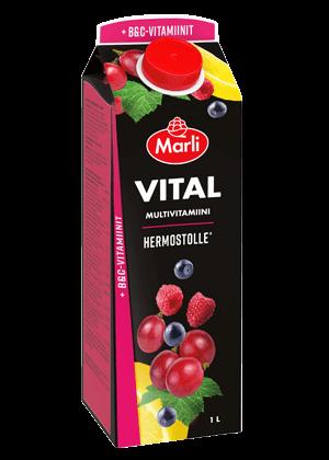 Marli Vital Multivitamiinimehujuoma + B&C -vitamiinit 1L