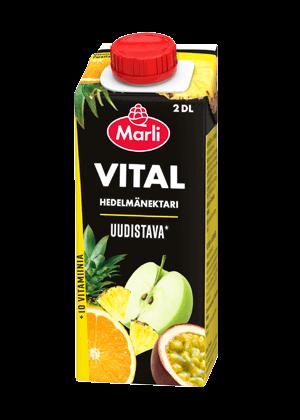 Marli Vital Hedelmänektari + 10 vitamiinia 2 dl