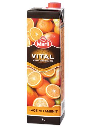 Appelsiini Vitamiinit